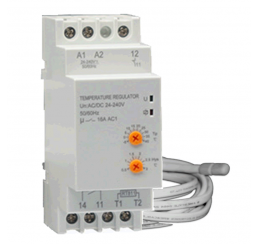 AT5DR Din Rail Manual Thermostat (16A)