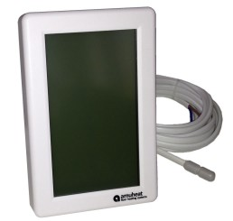 AT7V Touch Screen Vertical Manual Thermostat (16A)