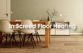 In Screed Floor Heating Kits