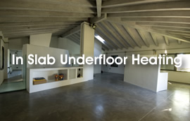 In Slab Underfloor Heating Kits