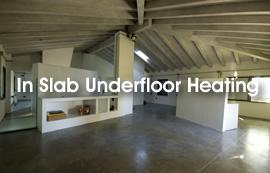 In Slab Underfloor Heating Kits